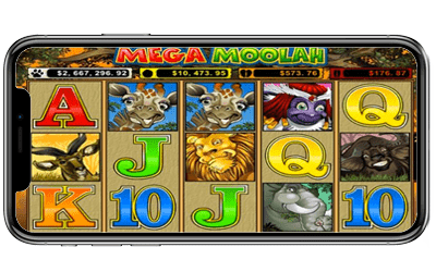 megamoolah - Top 5 Online Casinos for iOS